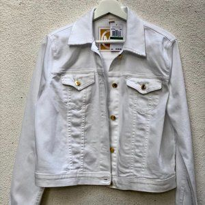 Michael Kors White denim jacket | Size L - NEW
